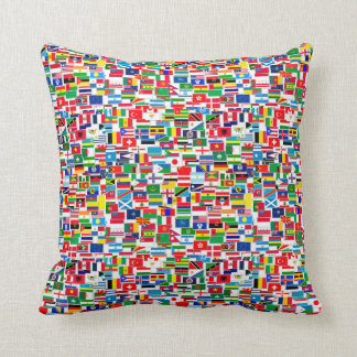 INTERNATIONAL FLAG PATTERN CUSHION
