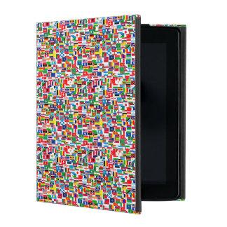 INTERNATIONAL FLAG PATTERN iPad COVER