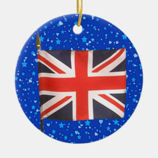 International Flags - UK Christmas Ornament