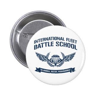 International Fleet Battle School Ender 6 Cm Round Badge