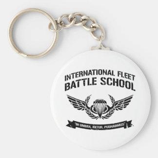 International Fleet Battle School Ender Basic Round Button Key Ring