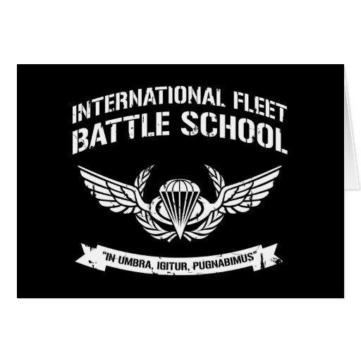 International Fleet Battle School Ender Cards