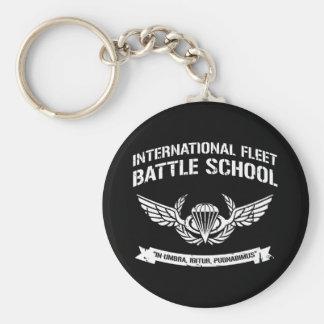 International Fleet Battle School Ender Key Ring