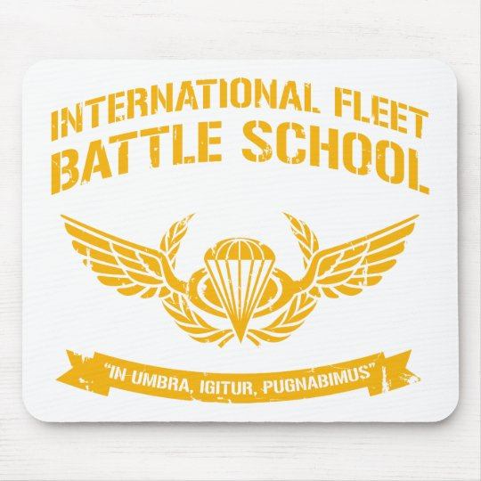 International Fleet Battle School Ender Mouse Mat