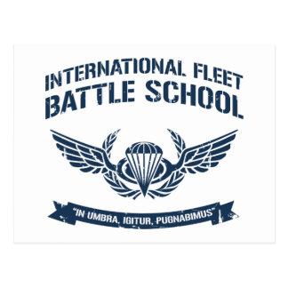 International Fleet Battle School Ender Postcard