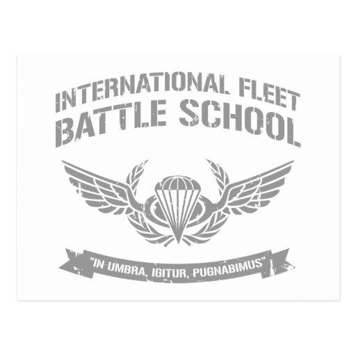International Fleet Battle School Ender Postcards