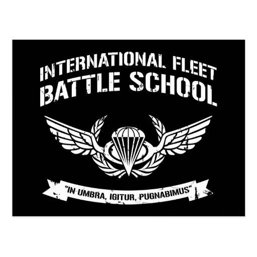 International Fleet Battle School Ender Post Cards