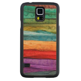 International Folk Art Market Maple Galaxy S5 Slim Case