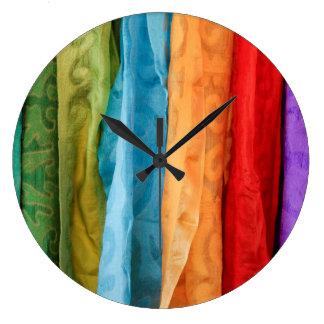 International Folk Art Market Wall Clocks