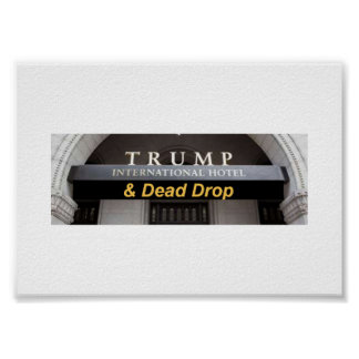 International Hotel and Dead Drop Poster