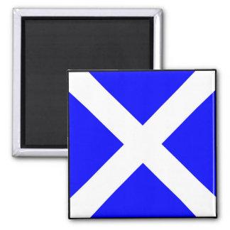 International maritime signal flag letter nautical square magnet