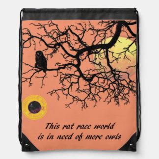 International Owl Day-4th August-Endangered Specie Backpacks