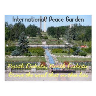 International Peace Garden/ North Dakota Postcard