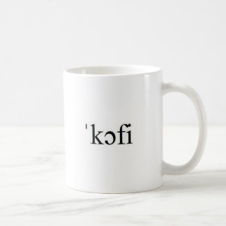 International Phonetic Alphabet Coffee Mug
