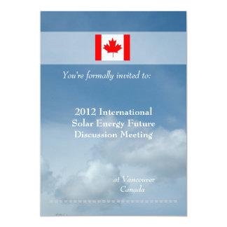 International, professional meeting invitations