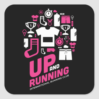 International Running Club - Stickers