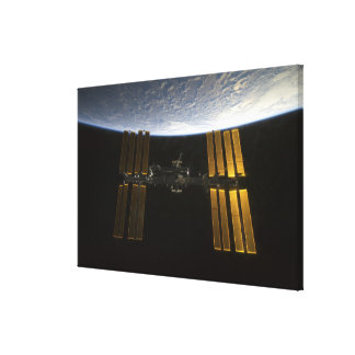 International Space Station 10 Canvas Print