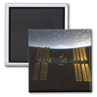 International Space Station 10 Square Magnet