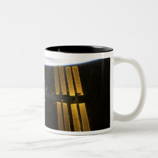 International Space Station 10 Two-Tone Coffee Mug