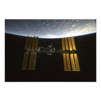 International Space Station 20 Photo Print