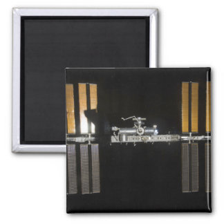 International Space Station 2 Square Magnet