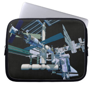 International Space Station 3 Laptop Sleeve