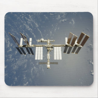 International Space Station backdropped Mouse Pad