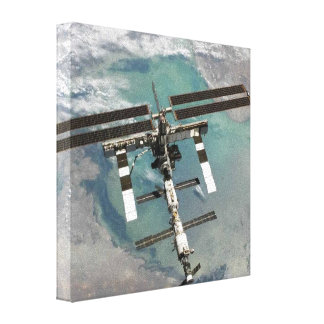 International Space Station Canvas Prints