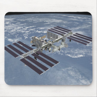 International Space Station complete Mouse Mat