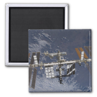 International Space Station in orbit Square Magnet