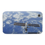 International Space Station orbiting Earth iPhone 3 Cases