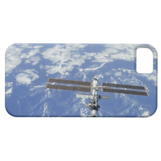 International Space Station orbiting Earth iPhone 5 Cases