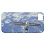 International Space Station orbiting Earth iPhone 5 Cover