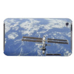 International Space Station orbiting Earth iPod Touch Case