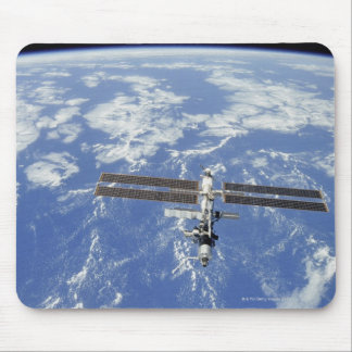 International Space Station orbiting Earth Mouse Mat