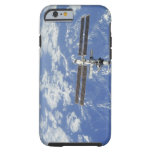 International Space Station orbiting Earth Tough iPhone 6 Case