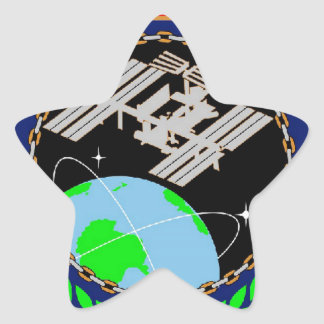 International Space Station Program Logo Sticker