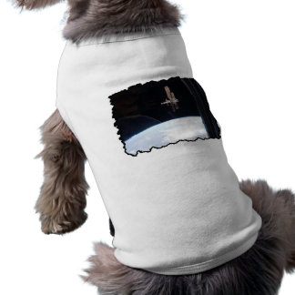 International Space Station -- Seen from Atlantis Doggie Tee
