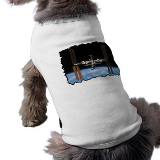 International Space Station -- Seen from Atlantis Dog Shirt