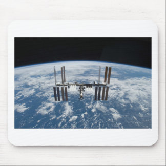 International Space Station -- Seen from Atlantis Mouse Mat