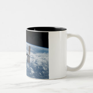 International Space Station -- Seen from Atlantis Coffee Mugs