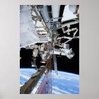 International Space Station Starboard Truss Poster
