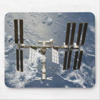 International Space Station with Kibo Lab Mouse Mat