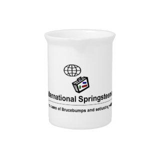 International Springsteener Drink Pitcher