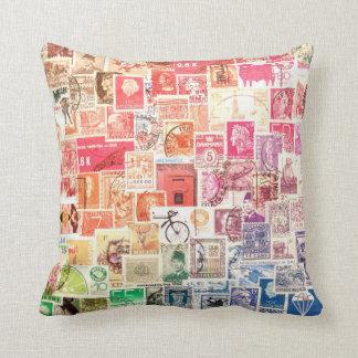 International Stamp Pillow