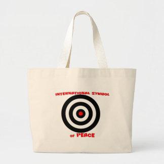 International Symbol of peace - Peace On Earth Canvas Bags