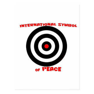 International Symbol of peace - Peace On Earth Postcard