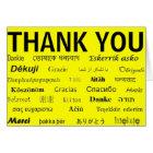 International Thank You Card