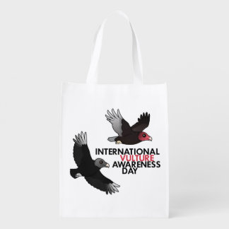 International Vulture Awareness Day Reusable Grocery Bag