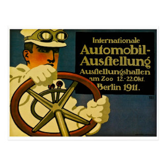 Internationale Automobil-Ausftellung 1911 Postcard